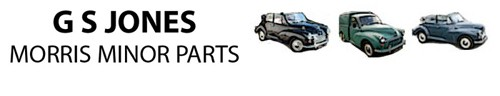 G S Jones Morris Minor Parts Has Moved